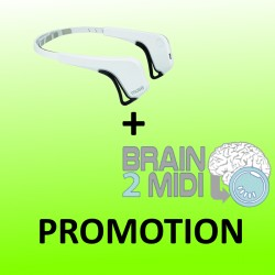 Brain2Midi and Muse white headband Bundle